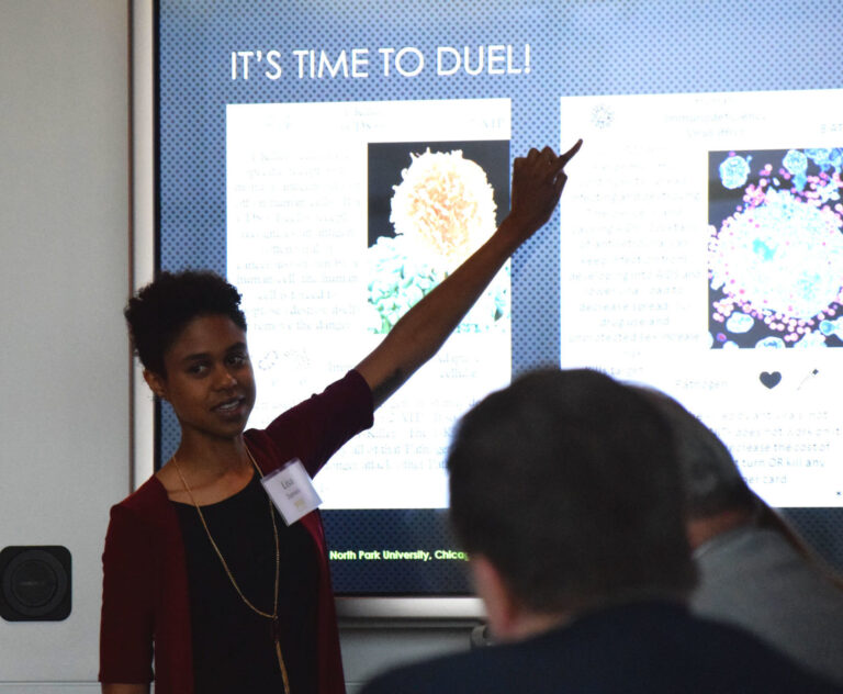 Undergrads Dive Deep into Majors for Summer Research Program featured image background