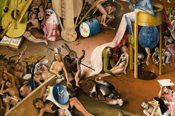 Book Announcement: The Hermeneutics of Hell, edited by Gregor Thuswaldner, Dean of Arts and Sciences and Professor of Humanities at North Park University featured image background