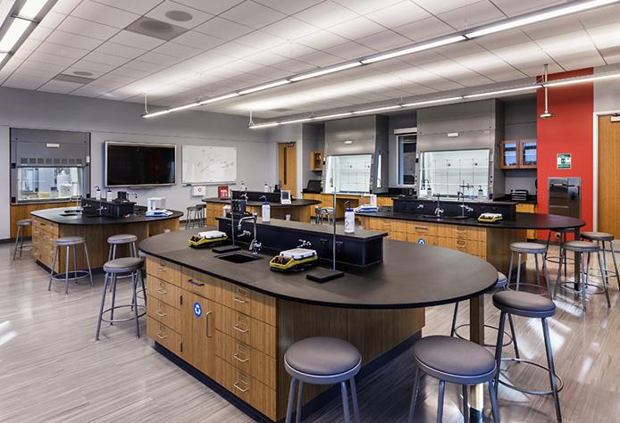Modern, First-Class Chemistry Laboratories - North Park