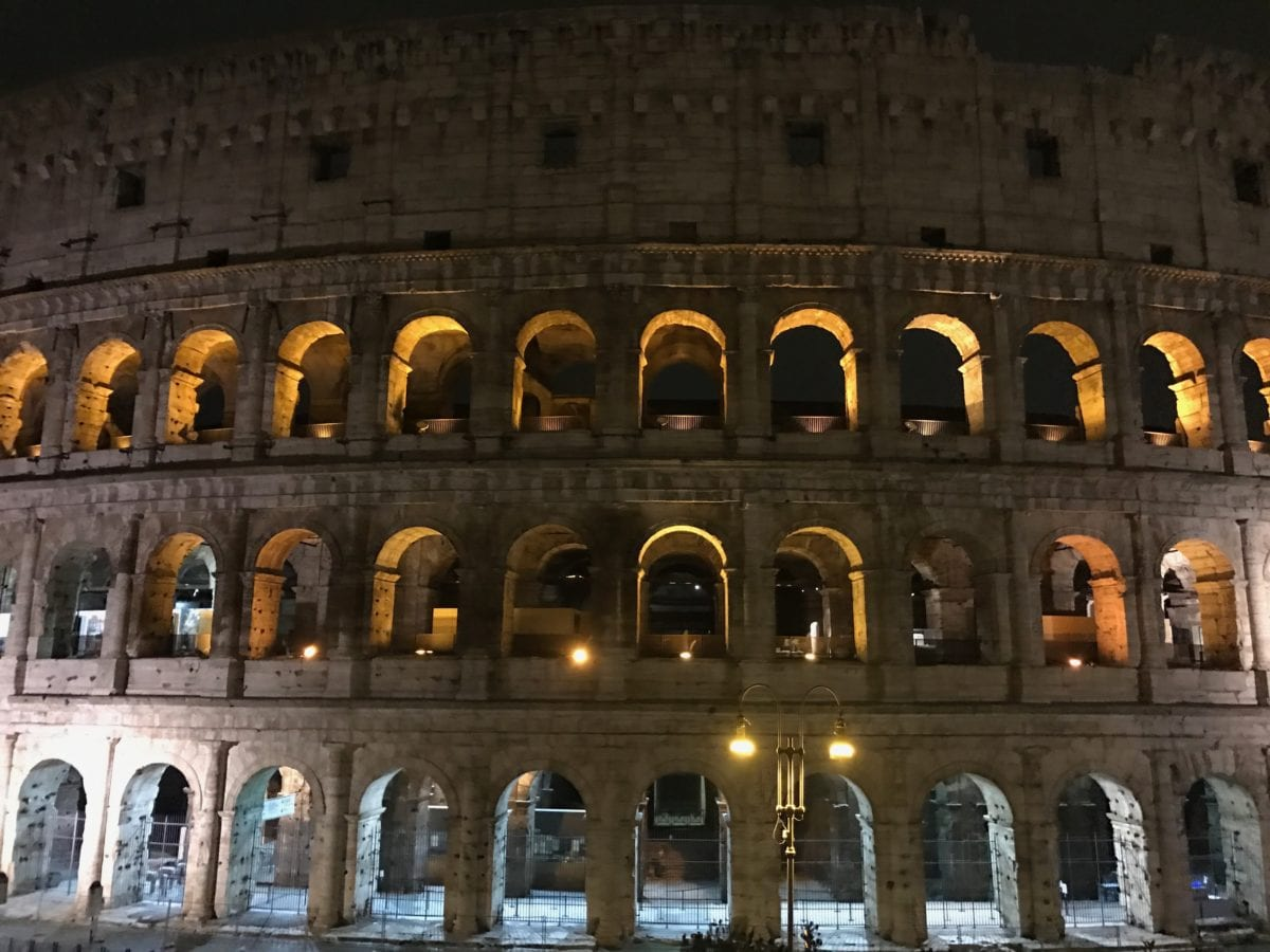 Student Blog: Outside My Comfort Zone, BTS in Italy 1