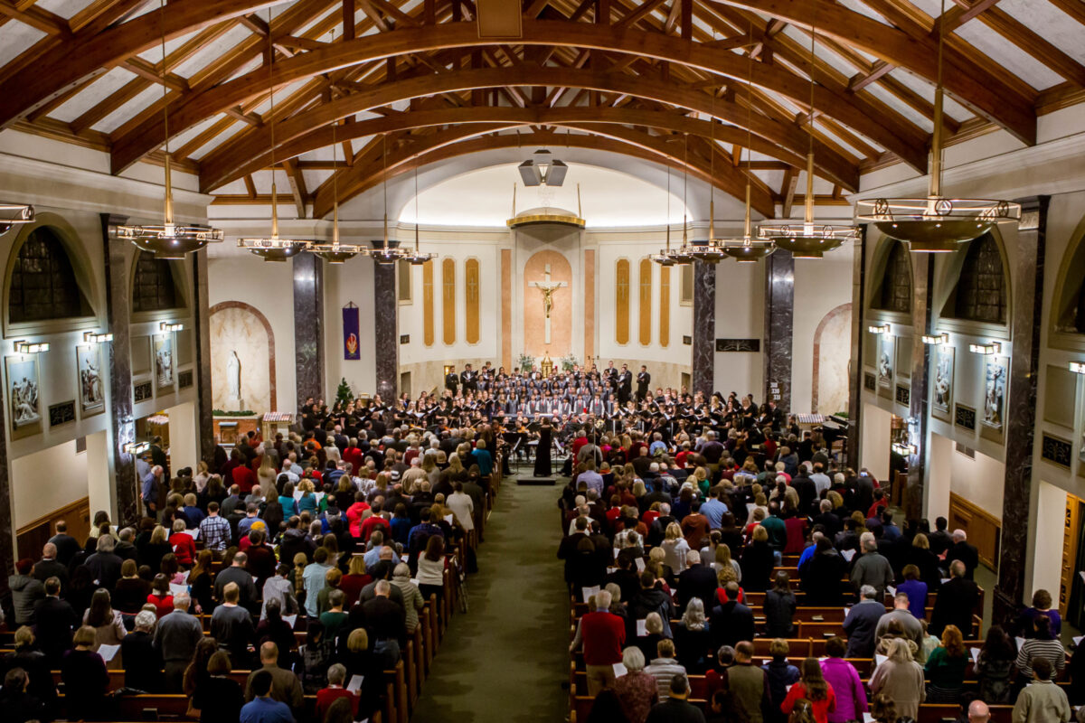 Festival of Lessons and Carols Highlights Talent of North Park Students, Staff