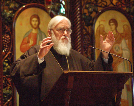 North Park University to Host Kallistos Ware for Orthodox Theology Conference featured image background