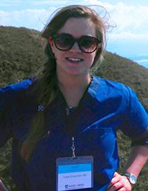 Lena Crossman, Nursing alumnus