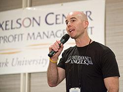 Johnny Imerman at Axelson Center Symposium