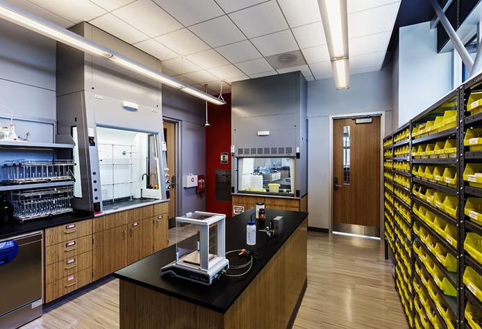 Chemistry Prep Laboratory