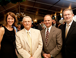 Mary Surridge, Dr. G. Timothy Johnson, David S. Helwig, and Dr. David L. Parkyn