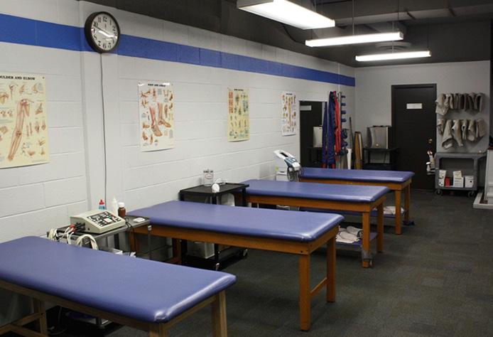 Carlson Tower Athletic Training Facilities
