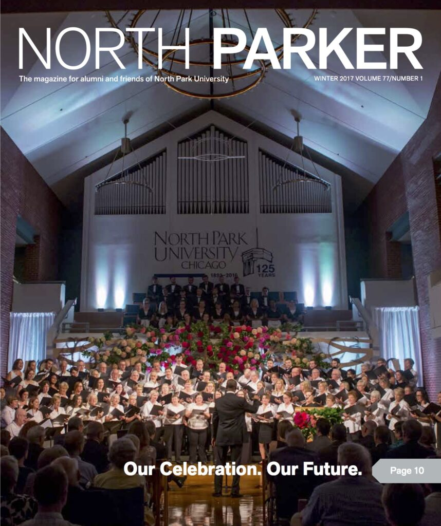North Parker front Cover