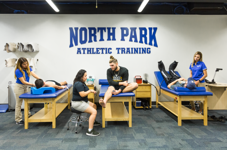 Master of Science in Athletic Training featured image background