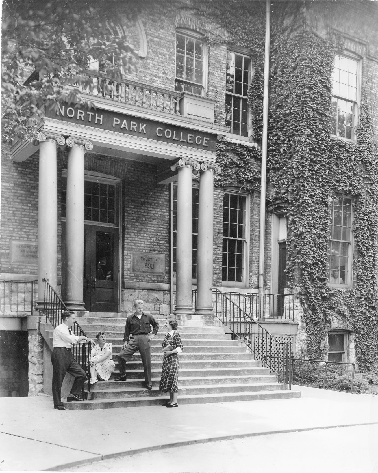 North Park University Archives featured image background