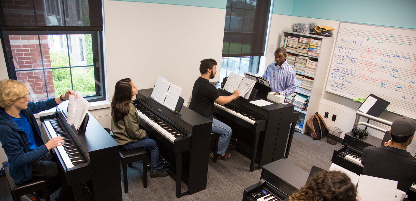 Music Student Learning Outcomes featured image background
