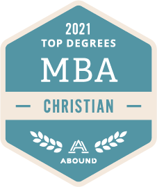 Top Degrees, MBA, Christian, 2021