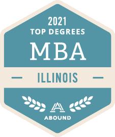 Top Degrees, MBA, Illinois, 2021