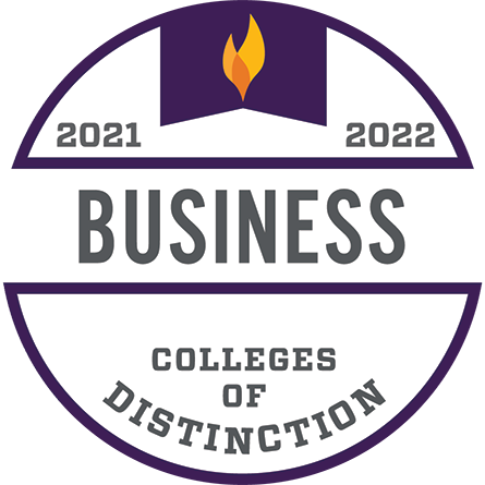 Colleges of Distinction, Business, 2021–2022