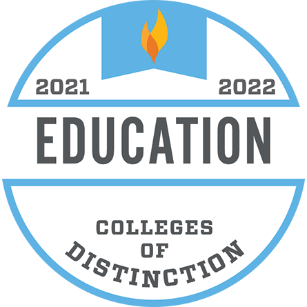 Colleges of Distinction, Education, 2021–2022