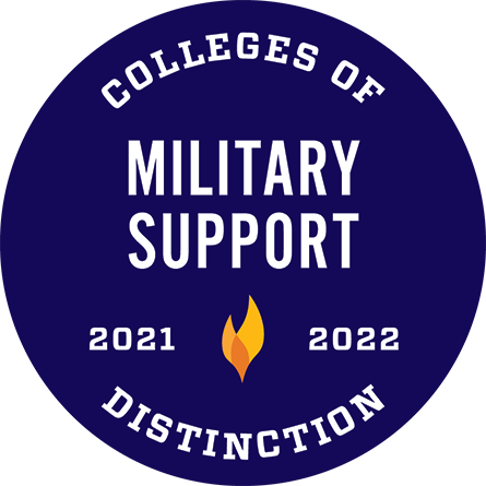Colleges of Distinction, Military Support, 2021–2022