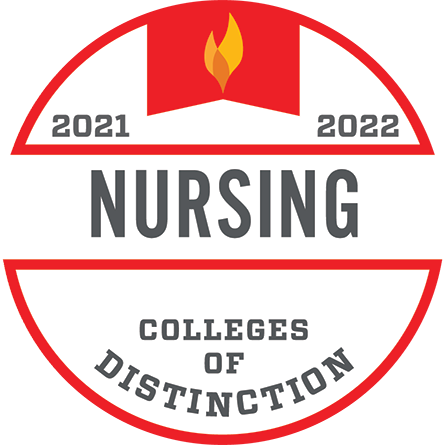 Colleges of Distinction, Nursing, 2021–2022